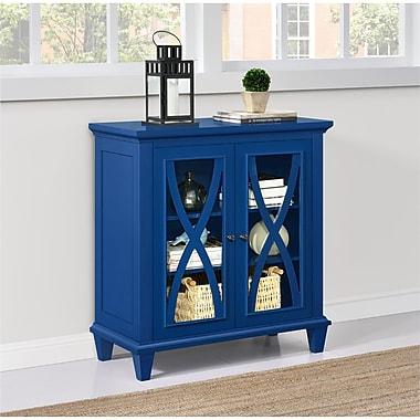 Altra Ellington Double Door Accent Cabinet, Blue (5042396COM)
