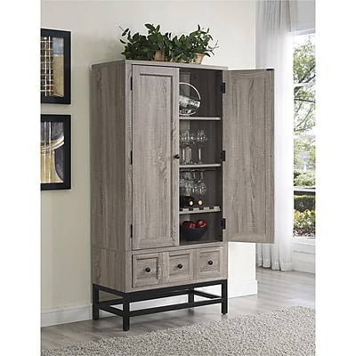 Altra Barrett Beverage Cabinet, Sonoma Oak (5290096COM)