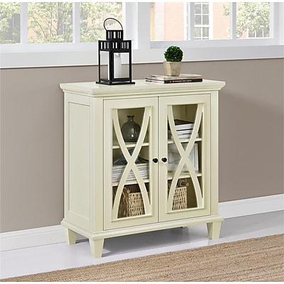 Altra Ellington Double Door Accent Cabinet, Ivory (5042096COM)