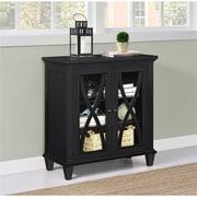 Altra Ellington Double Door Accent Cabinet, Black (5042196COM)
