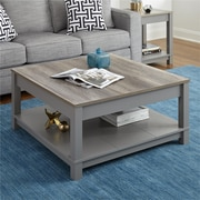 Altra Carver Carver Grey/Sonoma Oak Coffee Table (5047096COM)