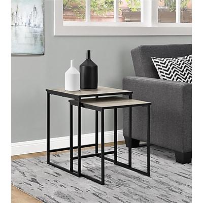 Altra Stewart Nesting Tables, Sonoma Oak (5027196COM)
