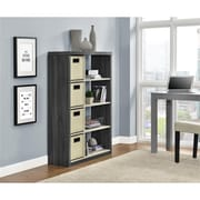 Altra Winlen Bookcase with 4 Bins, Espresso/Light Brown (9663096COM)