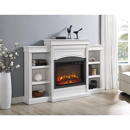 Altra Lamont Mantel Fireplace, White (1815096COM)