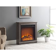 Altra Bruxton Electric Simple Fireplace