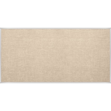 Best-Rite Vin-Tak Tackboard with Aluminum Trim Cotton Vinyl 4 x 12 Feet (311AM-46)