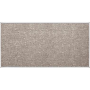 Best-Rite Vin-Tak Tackboard with Aluminum Trim Gray Vinyl 4 x 10 Feet (311AK-44)