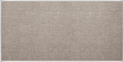 Best-Rite Vin-Tak Tackboard with Aluminum Trim Gray Vinyl 4 x 10 Feet (311AK-44)