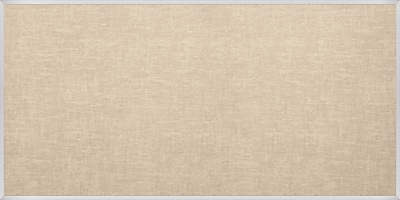 Best-Rite Vin-Tak Tackboard with Aluminum Trim Cotton Vinyl 4 x 10 Feet (311AK-46)