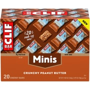 Clif Bar Crunchy Peanut Butter Minis,1.0 oz., 20/Box (CCC36412)