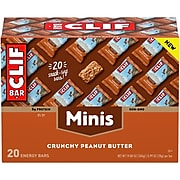Clif Bar Crunchy Peanut Butter Minis,1.0 oz.,20/Box (CCC36412)