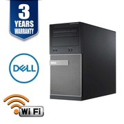 Dell 3020 Refurbished Desktop Computer, Intel Core i5-4590 3.3Ghz, 8GB Memory, 2TB HDD, DVDRW, WiFi, Win 10 Pro