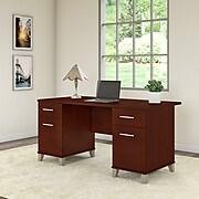 Bush Furniture Somerset 60W Office Desk, Hansen Cherry (WC81728K)
