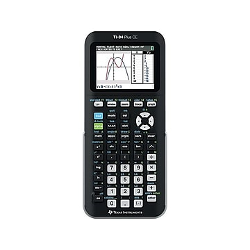 Texas Instruments TI-84 Plus CE 10-Digit Graphing Calculator, Black