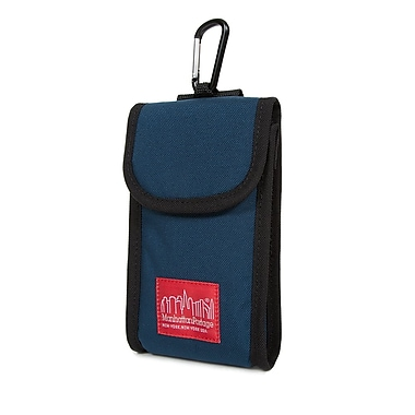 Manhattan Portage Smartphone Accessory Case, Large, Navy (1026 NVY)