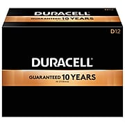 Duracell Coppertop D Alkaline Batteries, 12/Pack (MN1300)