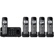Panasonic Kx-tge445b 5-handset Expandable Cordless Phone System With Enhanced Noise Reduction