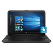 "Refurbished HP 15-AY018CA 15.6"" LED Intel Pentium N3710 500GB 4GB Microsoft Windows 10 Home Laptop Black"