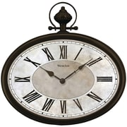 "Westclox 32926 16"" Oval Pocket Watch Wall Clock"