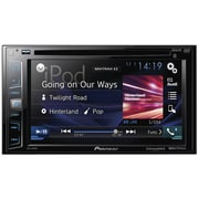 Pioneer Avh x390bs 6.2 inch Double din In dash Dvd Receiver With Bluetooth & Siriusxm Ready by