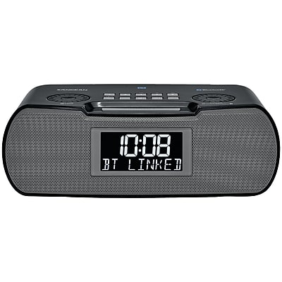 Sangean Rcr-20 Digital AM/FM-rds/bluetooth Clock Radio w/ USB Charger