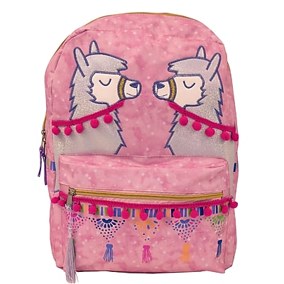Accessory Innovations Lllama Backpack, Pink (B19GC41418-ST)
