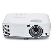 ViewSonic Home Theater PA503S DLP Projector, White