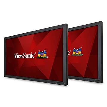 "ViewSonic VA2452Sm_H2 24"" LED Monitor, Black"