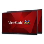 "Viewsonic VG2753_H227"" Dual IPS Monitors, Black"