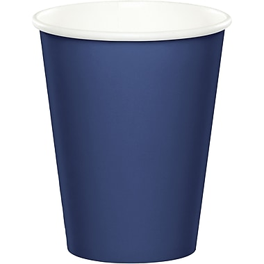 Touch of Color Navy Blue Cups 24 pk (561137B)