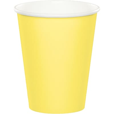 Touch of Color Mimosa Yellow Cups 24 pk (56102B)