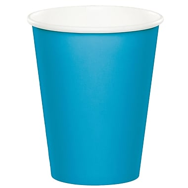 Touch of Color Turquoise Blue Cups 24 pk (563131B)