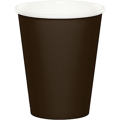 Touch of Color Chocolate Brown Cups 24