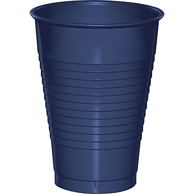 Touch of Color Navy Blue 12 oz Plastic Cups 20 pk (28113771)