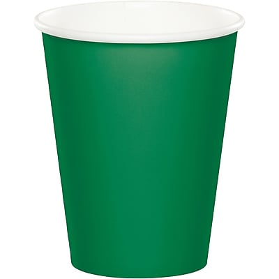 Touch of Color Emerald Green Cups 24 pk (56112B)