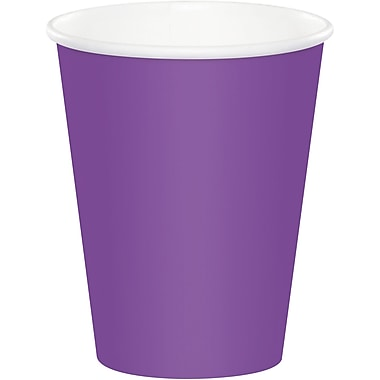 Touch of Color Amethyst Purple Cups 24 pk (318914)