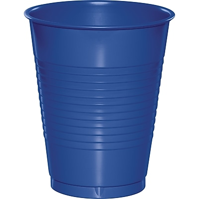 Touch of Color Cobalt Blue 16 oz Plastic Cups 50 pk (319022) 2634407
