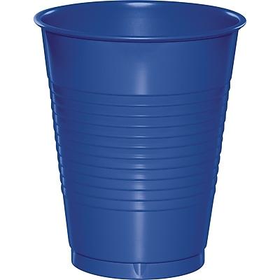 Touch of Color Cobalt Blue 16 oz Plastic Cups 50 pk (319022)