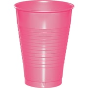 Touch of Color Candy Pink 12 oz Plastic Cups 20 pk (28304271)