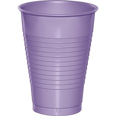 Touch of Color Luscious Lavender Purple 12 oz Plastic Cups 20 pk (28193071)