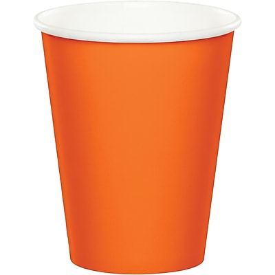 Touch of Color Sunkissed Orange Cups 24 pk (56191B)