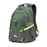 High Sierra Loop Lightwave Backpack, Mercury/Lime (53646-7632)