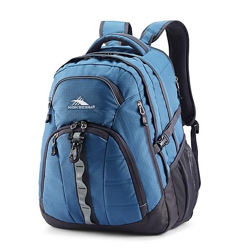 7f7362bff High Sierra Access 2.0 Laptop Backpack, Graphite Blue/Mercury  (105157-7621). https://www.staples-3p.com/s7/is/