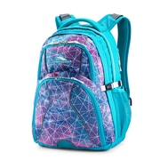 High Sierra Swerve Sequin Facets Backpack, Bluebird/White (53665-7543)