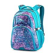 High Sierra Swerve Sequin Facets Backpack, Bluebird/White (53665-7543)