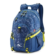High Sierra Loop Space Creatures Backpack, Blue/Neon Green (53646-7647)
