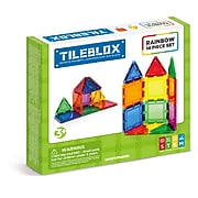 TileBlox STEM Certified Magnetic Building Blocks, 14 Piece Set (1030001)