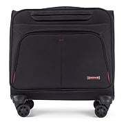 Swiss Mobility Polyester Business Case On Wheels, Black (BZCW1003SMBK)