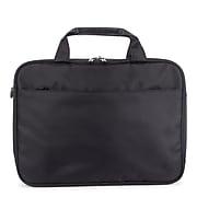 Swiss Mobility Purpose Polyester Executive Briefcase, Black (EXB1005SMBK)