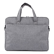 Swiss Mobility Sterling Polyester Slim Briefcase, Grey (EXB1068SMGRY)